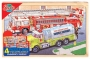 Puzzle din lemn - rescue - Puzzle-uri educative